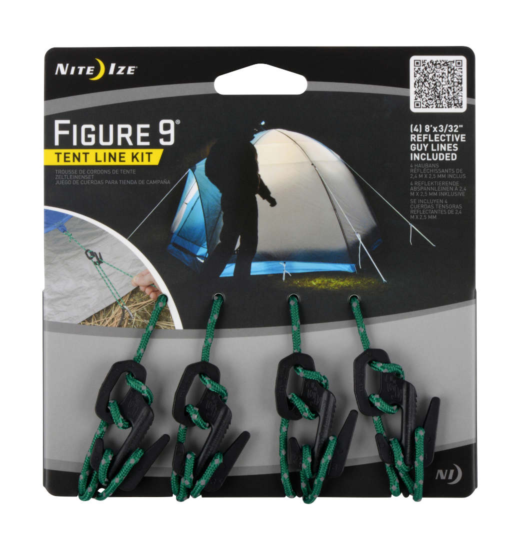 Odblaskowa Linka Do Namiotu Nite Ize Figure 9 Tent Line Kit