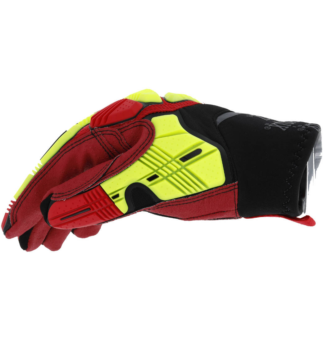 Rękawice Mechanix M-Pact® Xplor™ Grip Hi-Viz Red